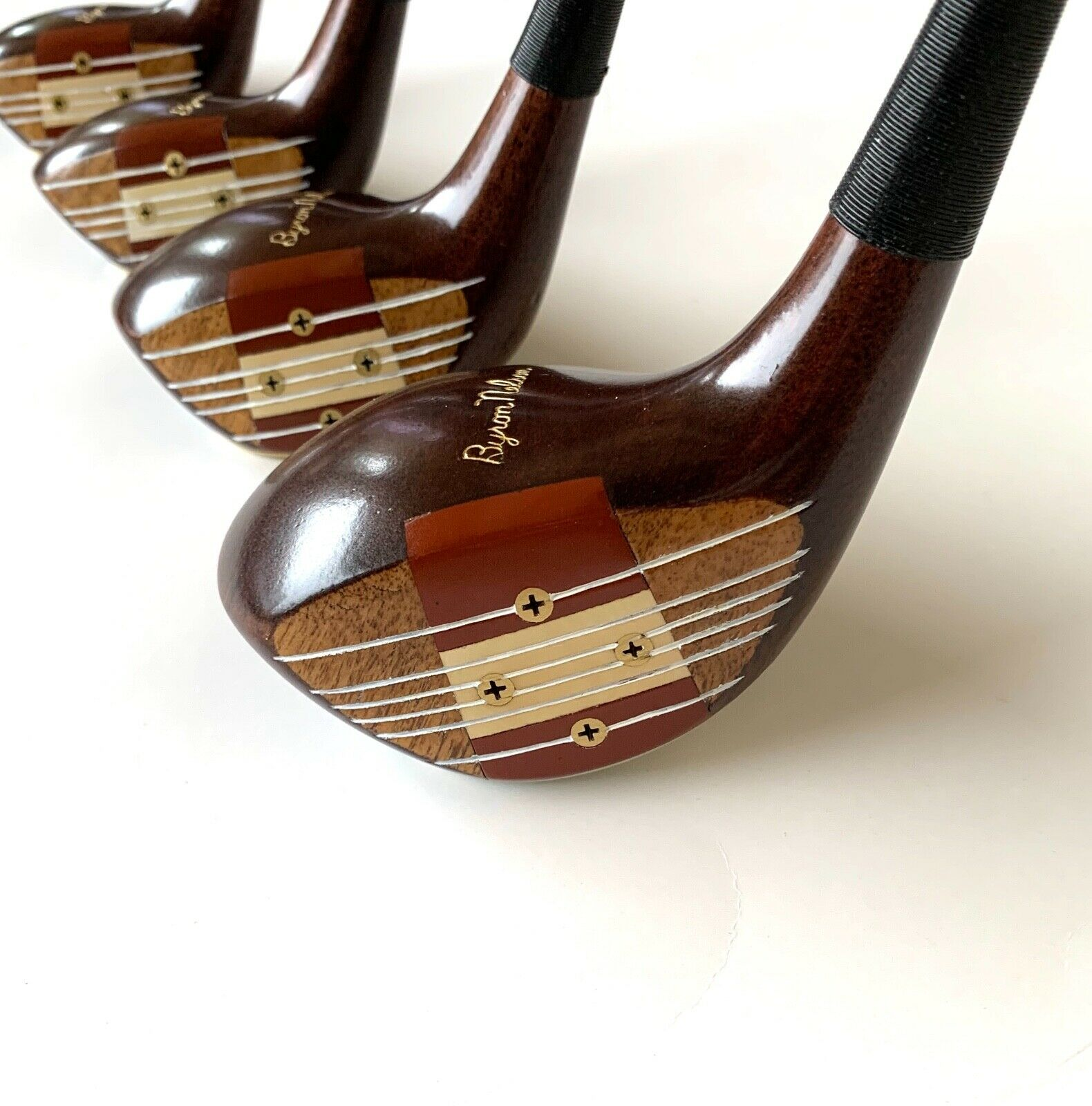 Mac Gregor RARE Byron Nelson 240W Persimmon set 1,3,4,and ...